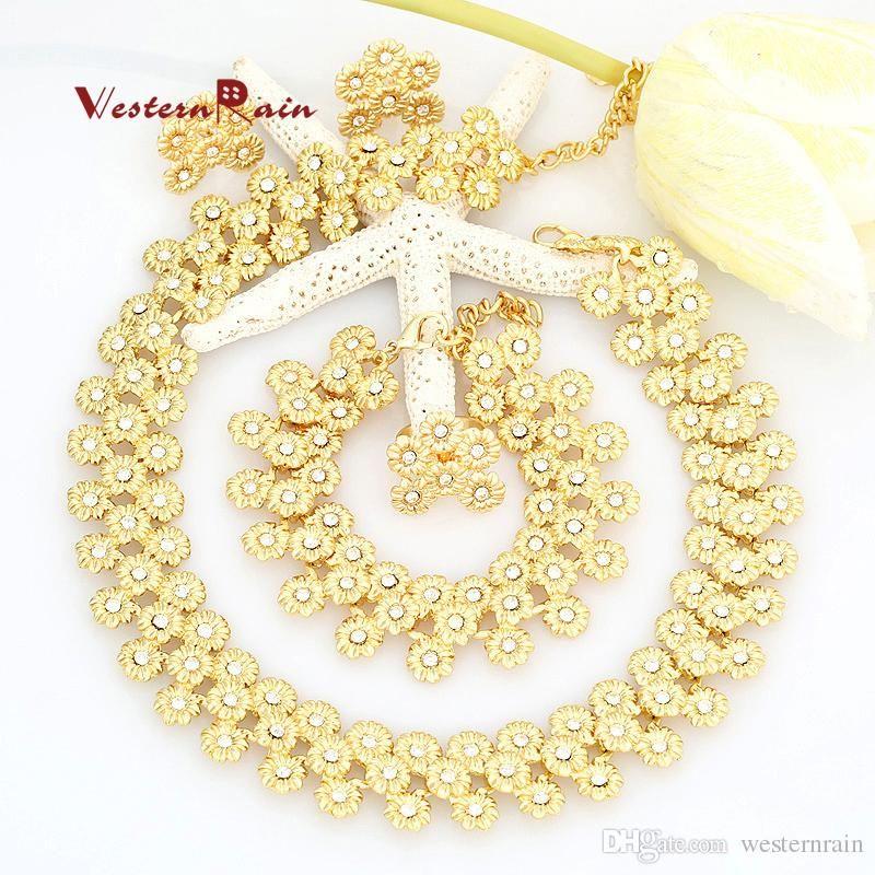 WesternRain 2016 New Design Fashion Choker Necklace Charm Gold ...