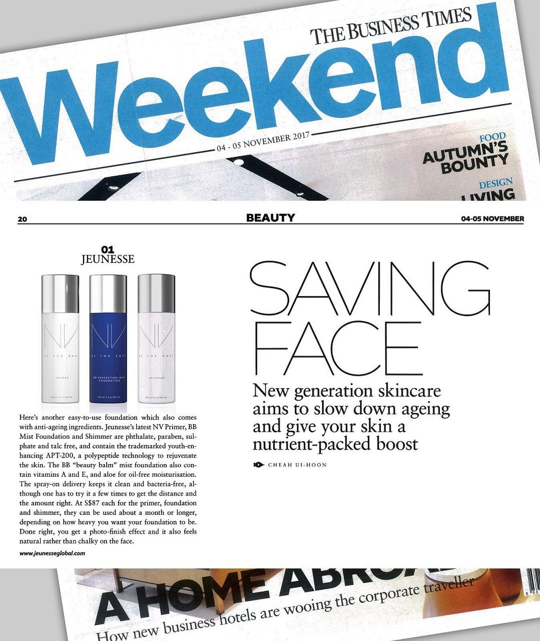 JEUNESSE IN THE PRESS NV by Jeunesse NOURISHING BUILDABLE