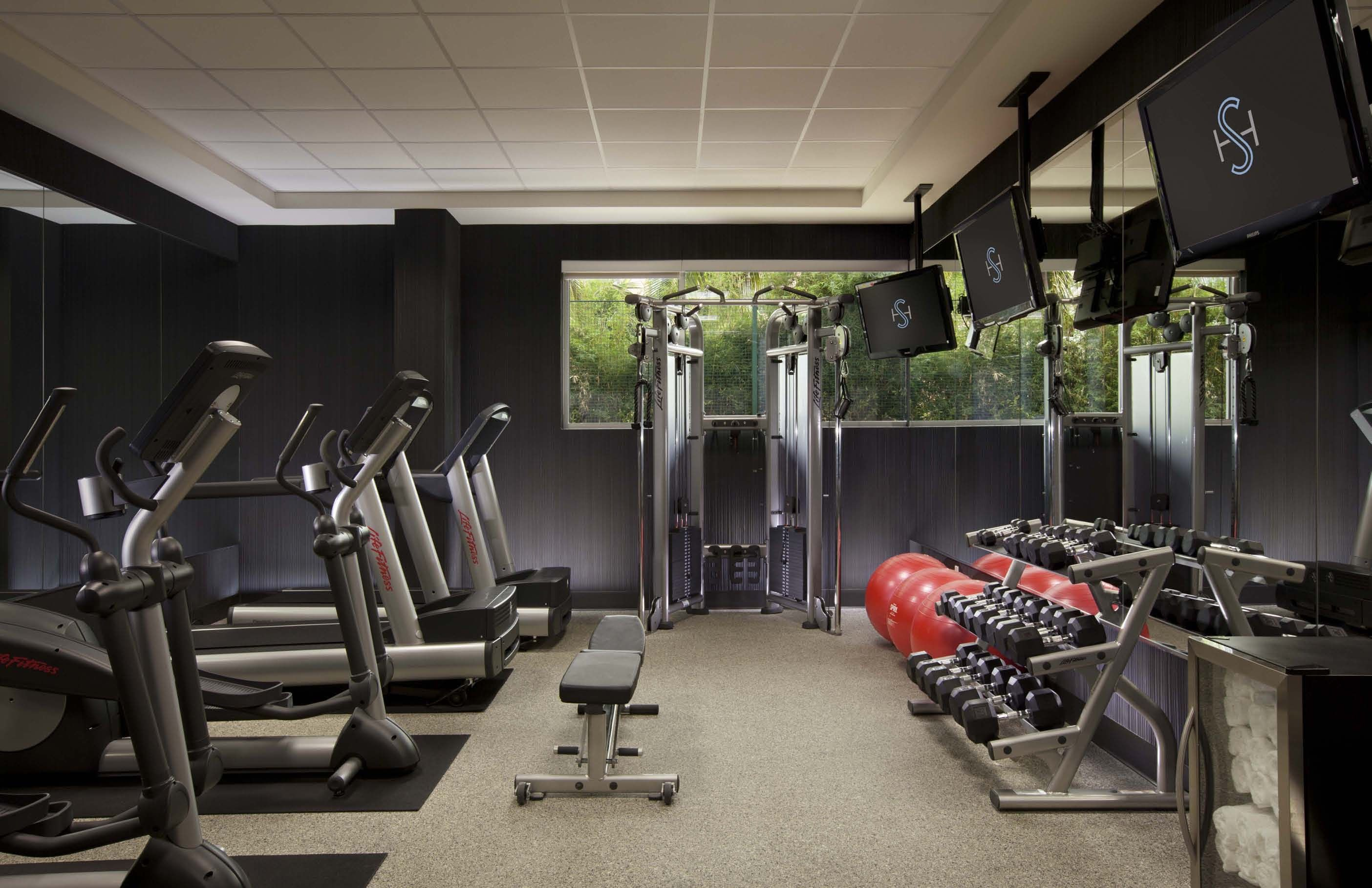 Fitness Center Luxury Gym Hotel Gym Room