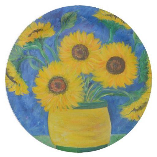 Stunning Sunflower Paper Plate  sc 1 st  Pinterest & Stunning Sunflower Paper Plate | Sunflowers
