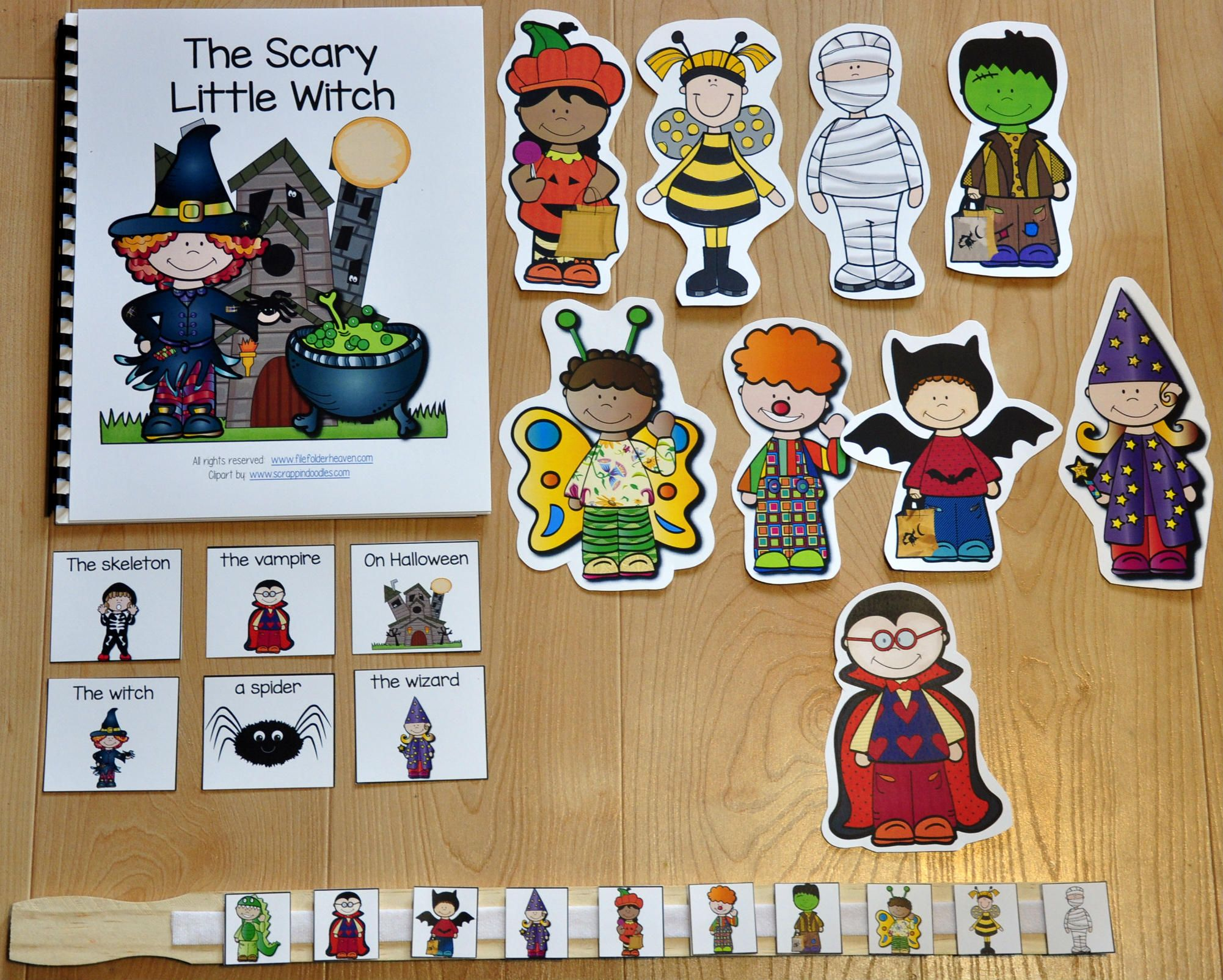 Freebie The The Scary Little Witch Is Super Fun And Interactive Halloween