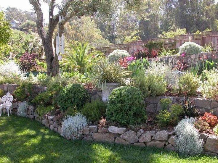 Aménager son jardin en pente - conseils pratiques et photos
