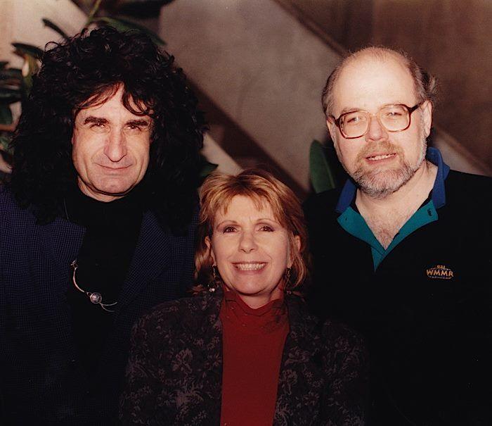 Patrick Moraz Annie Haslam And Ed Sciaky Patrick Moraz