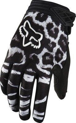 19f6404c8 Fox Racing 2014 Womens Dirtpaw Motocross Dirt Bike Gloves Size Medium Black