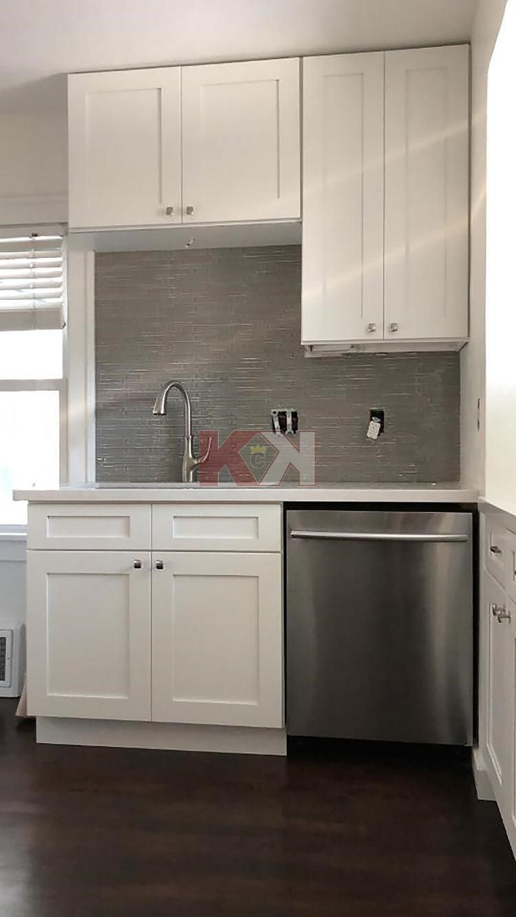Ice White Shaker Kitchen Cabinet Kings Kitchen Cabinets Affordable Kitchen Cabinets
