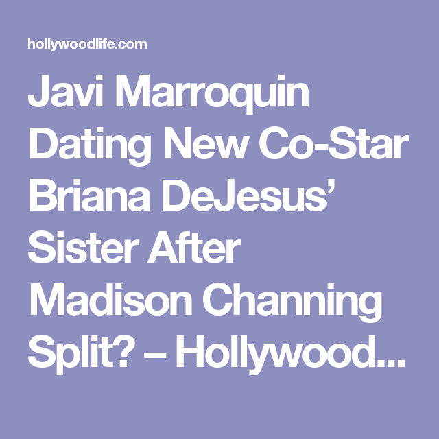 Javi dating madison walls