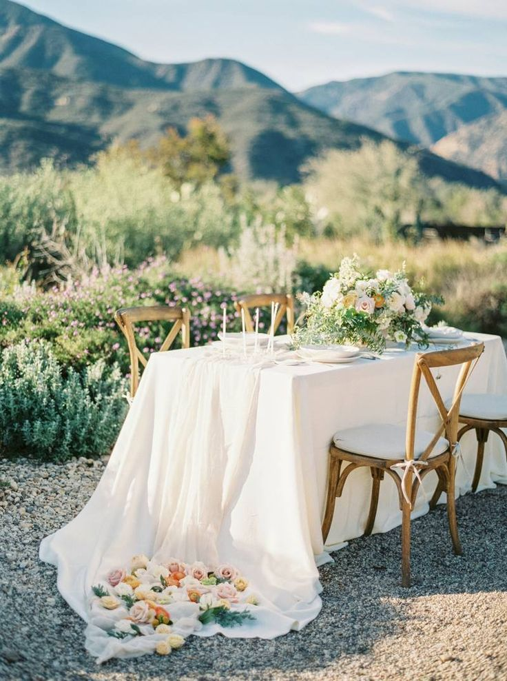 Romantic Southern California Garden Bridal Ideas