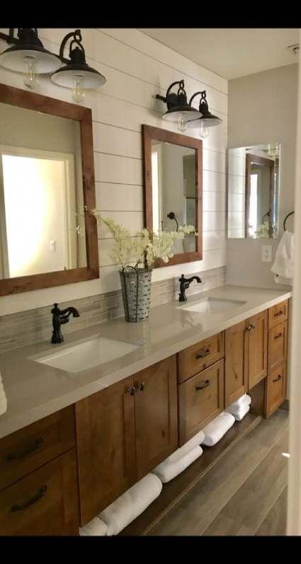 Photo of 19 Ideas farmhouse bathroom lighting fixtures medicine cabinets