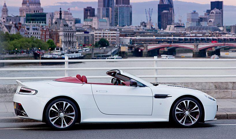 Aston Martin V12 Vantage Roadster Aston Martin Aston Auto