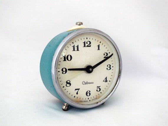 Vintage alarm clock Sevani made in Soviet Armenia in 60s ...