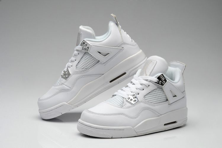 Love is ... these beautiful white Air Jordans