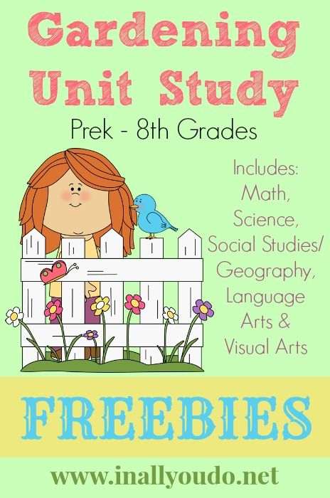 Homeschool in the Garden: A Big List of Ideas and Resources ...