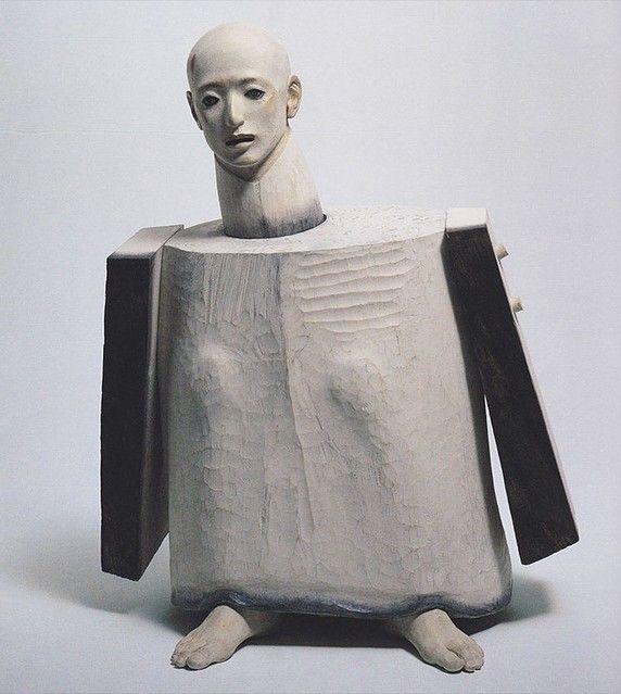 "raveneuse:  "" Katsura Funakoshi, Dancing as a Pupa (Homage to a Dancer), 2001.  """