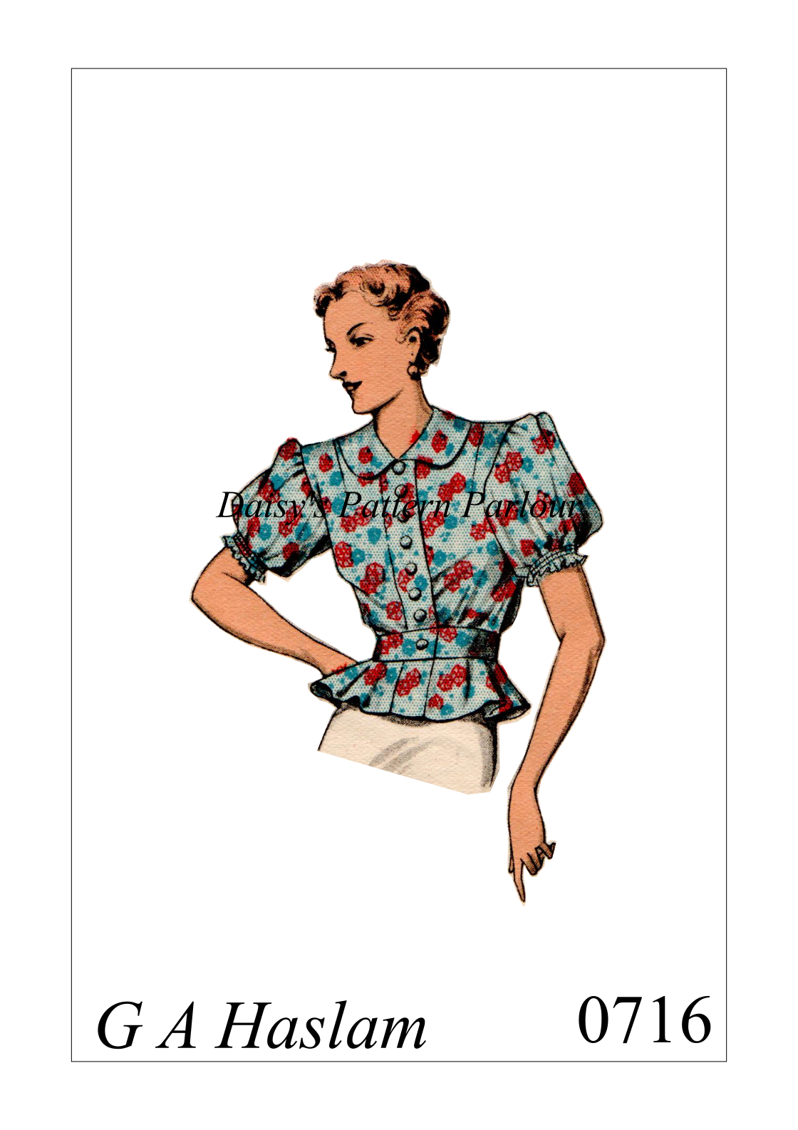 Peplum Blouse Sewing Patterns | ANLIS