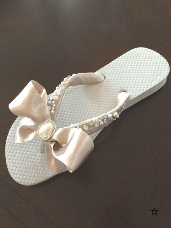 Wedding Flip Flops/Wedges/Shoes.BRIDAL Flip Flops. Flip Flops. Ivory Flip Flops. Mother of the Bride Shoes.Bridal Shoes,