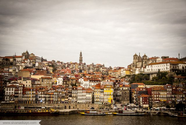 Overlooking Porto, Oporto, Portugal