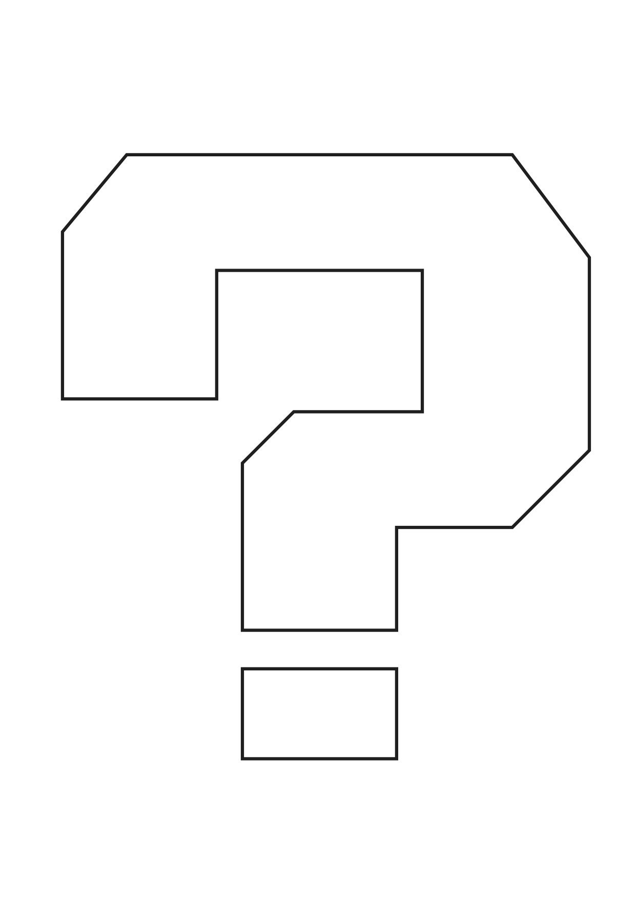 Coloring pages question mark - Mario_questionmark Jpg