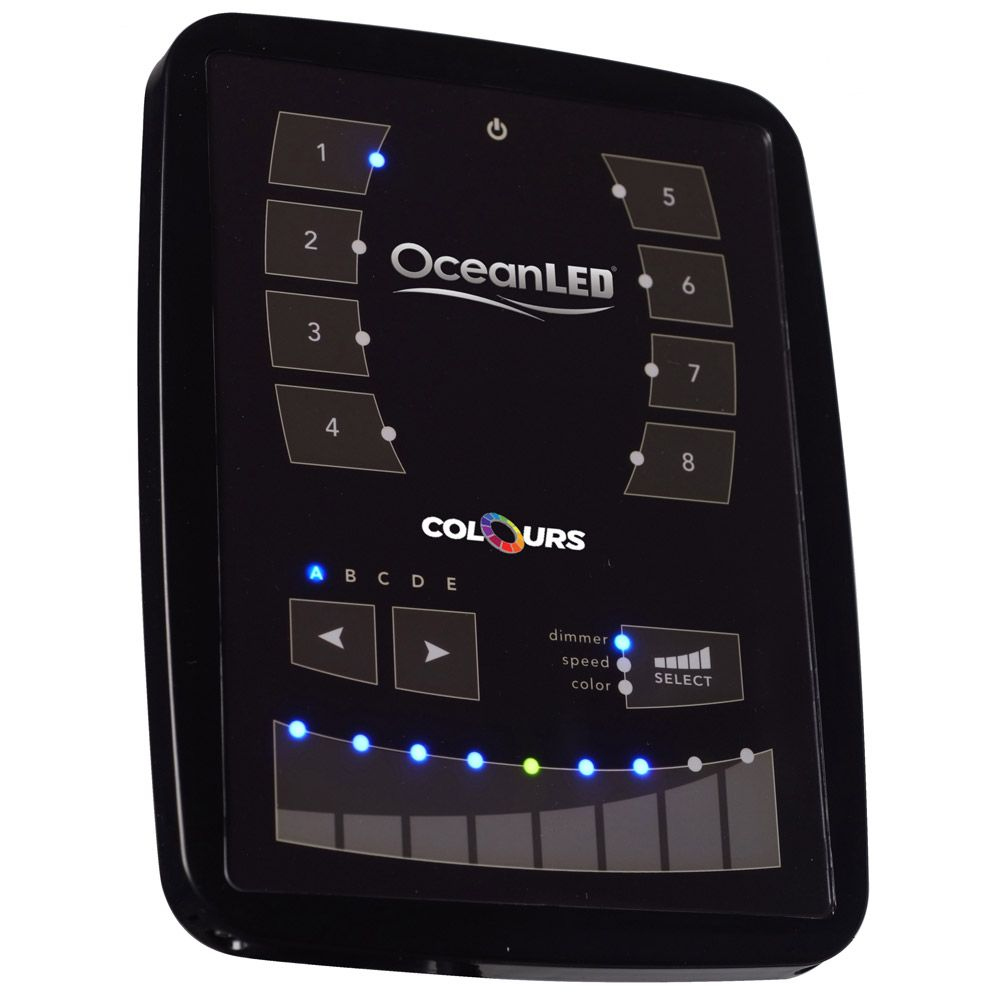OceanLED DMX Wi-Fi Touch Panel Controller #touchpanel