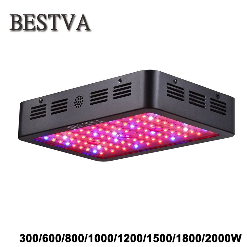 Bestva 300 600 800 1200 1500 1800 2000w Full Spectrum Led Grow Light Lamps For Indoor Greenhouse Plants Red Blue White Uv Ir Led