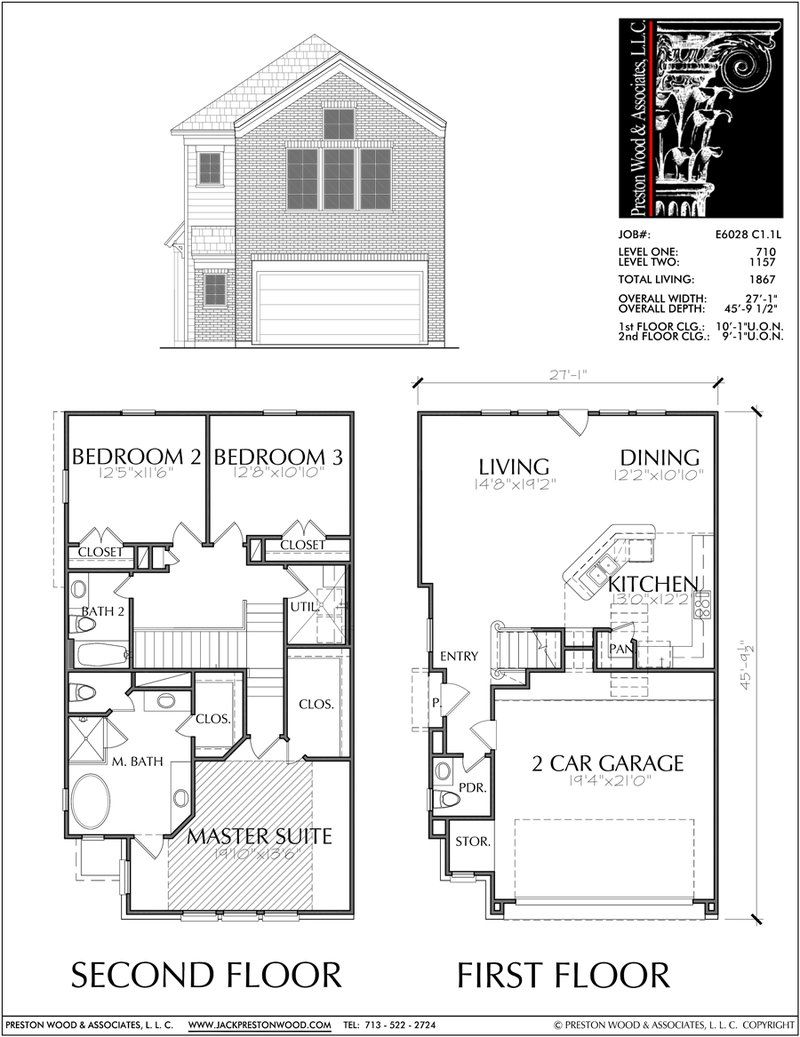 Buy townhouse plans online cool townhome designs brownstone homes  preston wood associates also rh pinterest