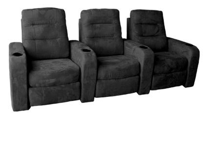 The Buccaneer Features A Waterfall Backrest In A Soft Microfiber Suede Finish That Is Soft And Inviting To The Hometheater Seating Fabric Seat Theater Seating
