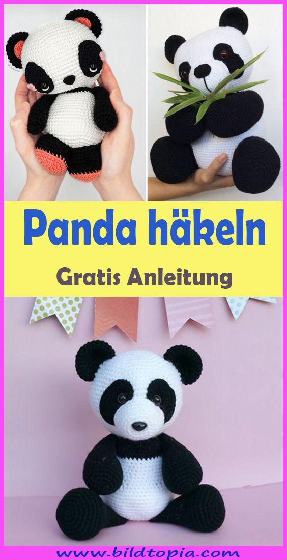 Amigurumi Panda häkeln – kostenlose & einfache Anleitung #babypandas