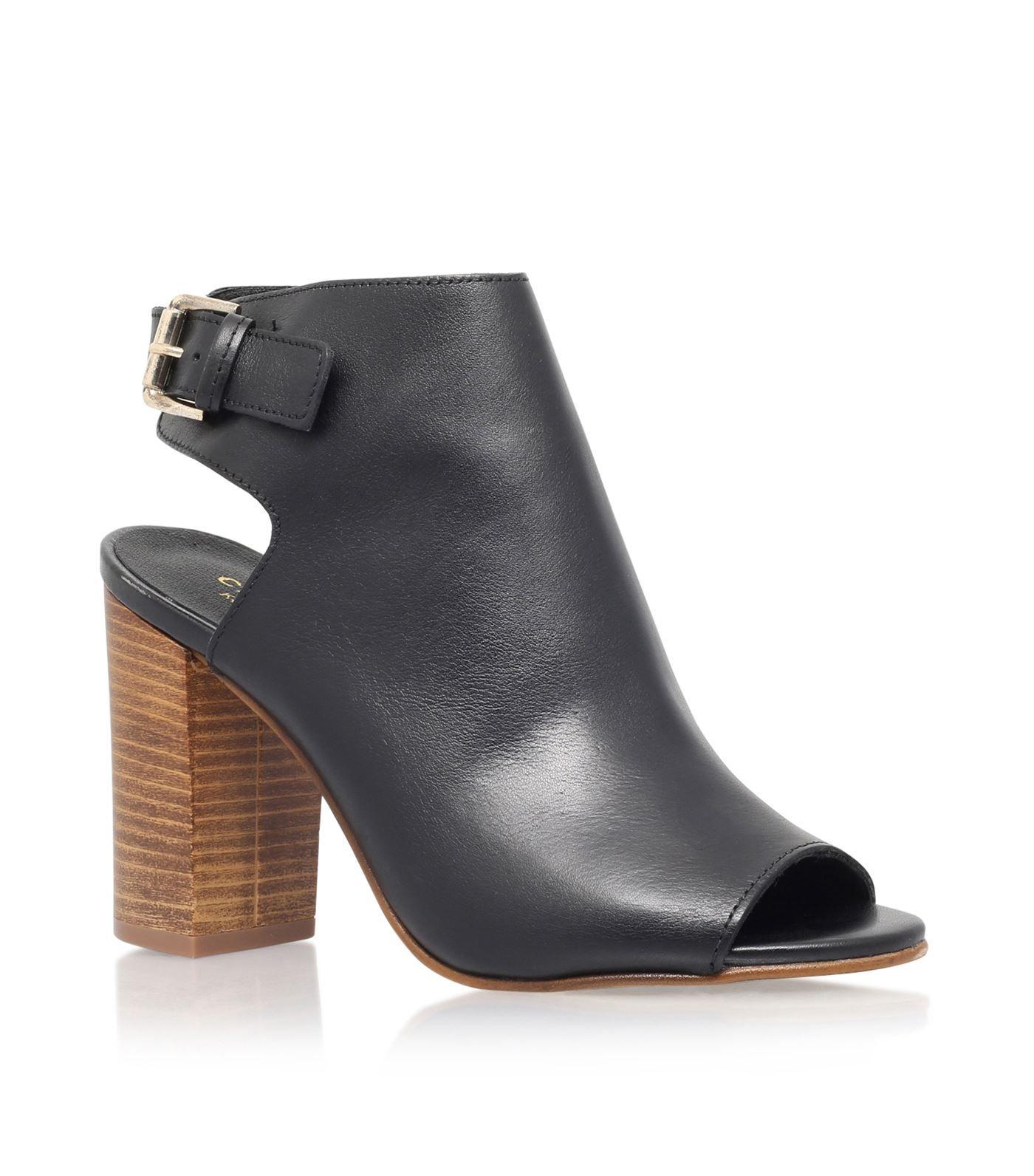5249f799d4d Carvela Kurt Geiger - Assent Leather Boots 90 booties, open toe ...