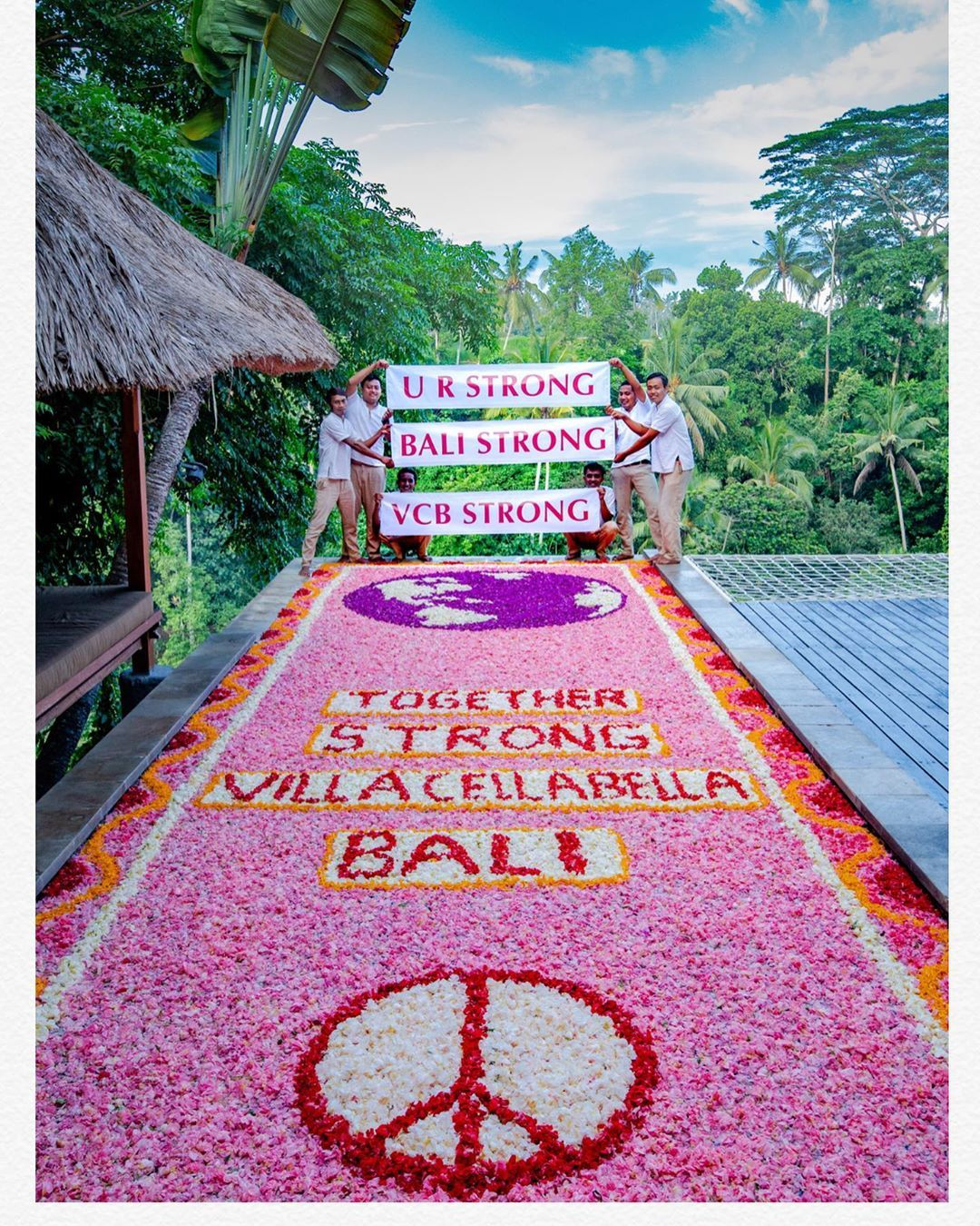 Villa Cella Bella Ubud Bali On Instagram Together Strong We Shall Overcome We Shall Persevere We Shall Triumph Alone Toget Ubud Bali Instagram