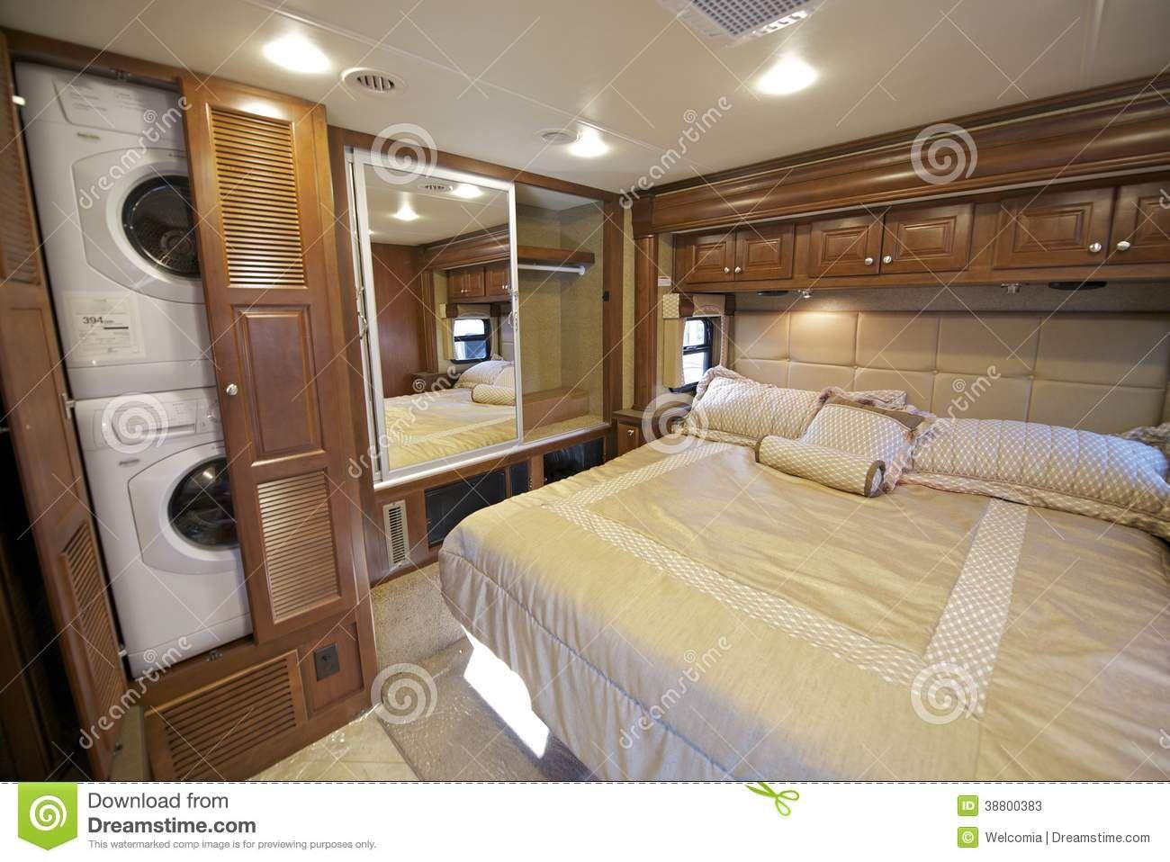Luxury RV Interiors Bedrooms, Rv Bedroom Recreation Vehicle .