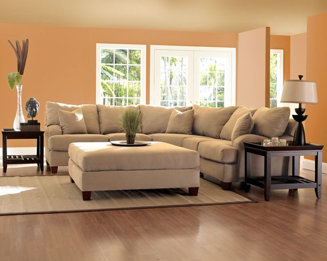Canyon K64860 Sectional Klaussner Brown Sectional Sofa
