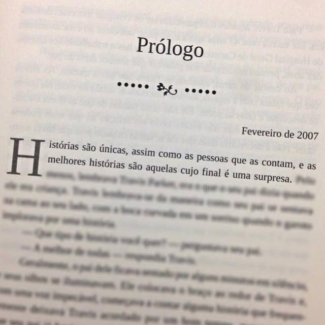 Livros que começam sempre com um bom prólogo, sempre tem um final Ótimo