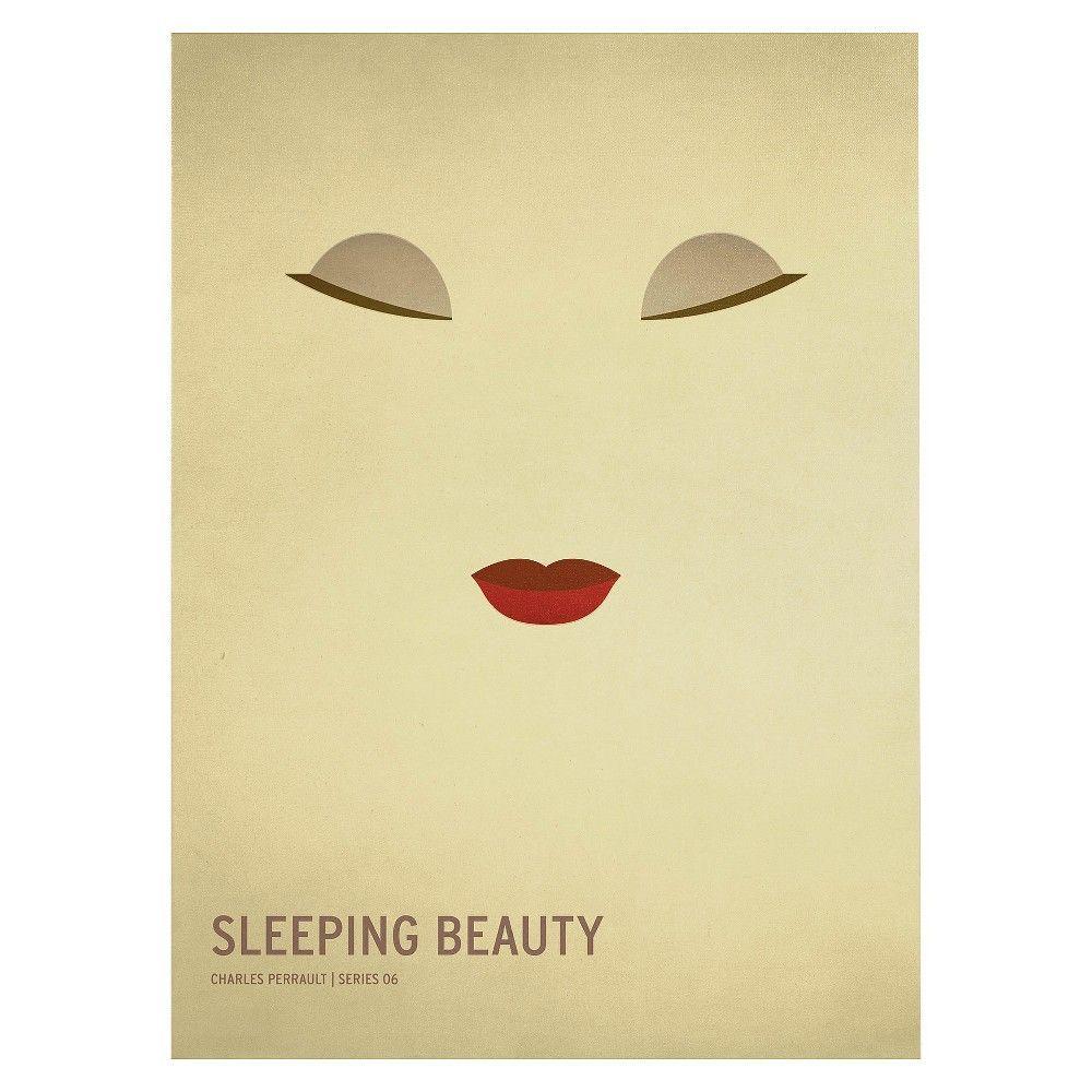 Sleeping Beauty\' by Christian Jackson Ready to Hang Canvas Wall Art ...