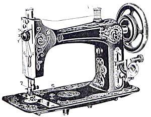 Eldredge model B sewing machine manual (smm1242) (Image1
