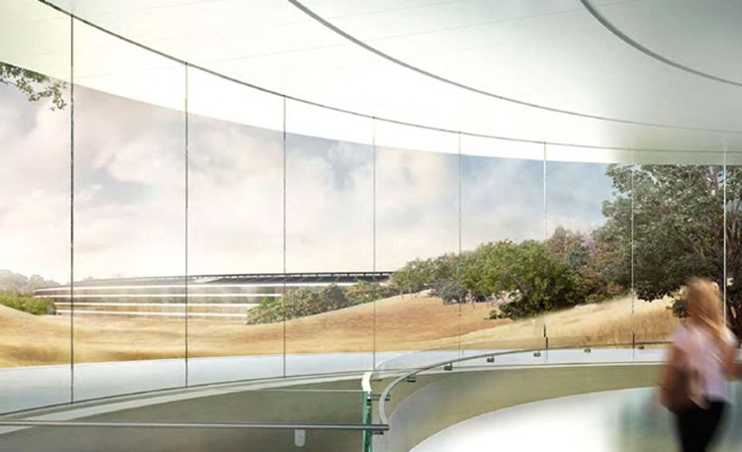 inside apple's cupertino spaceship campus by foster +