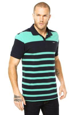Camisa Polo Colcci Brasil Style Azul  60b13c4035f25