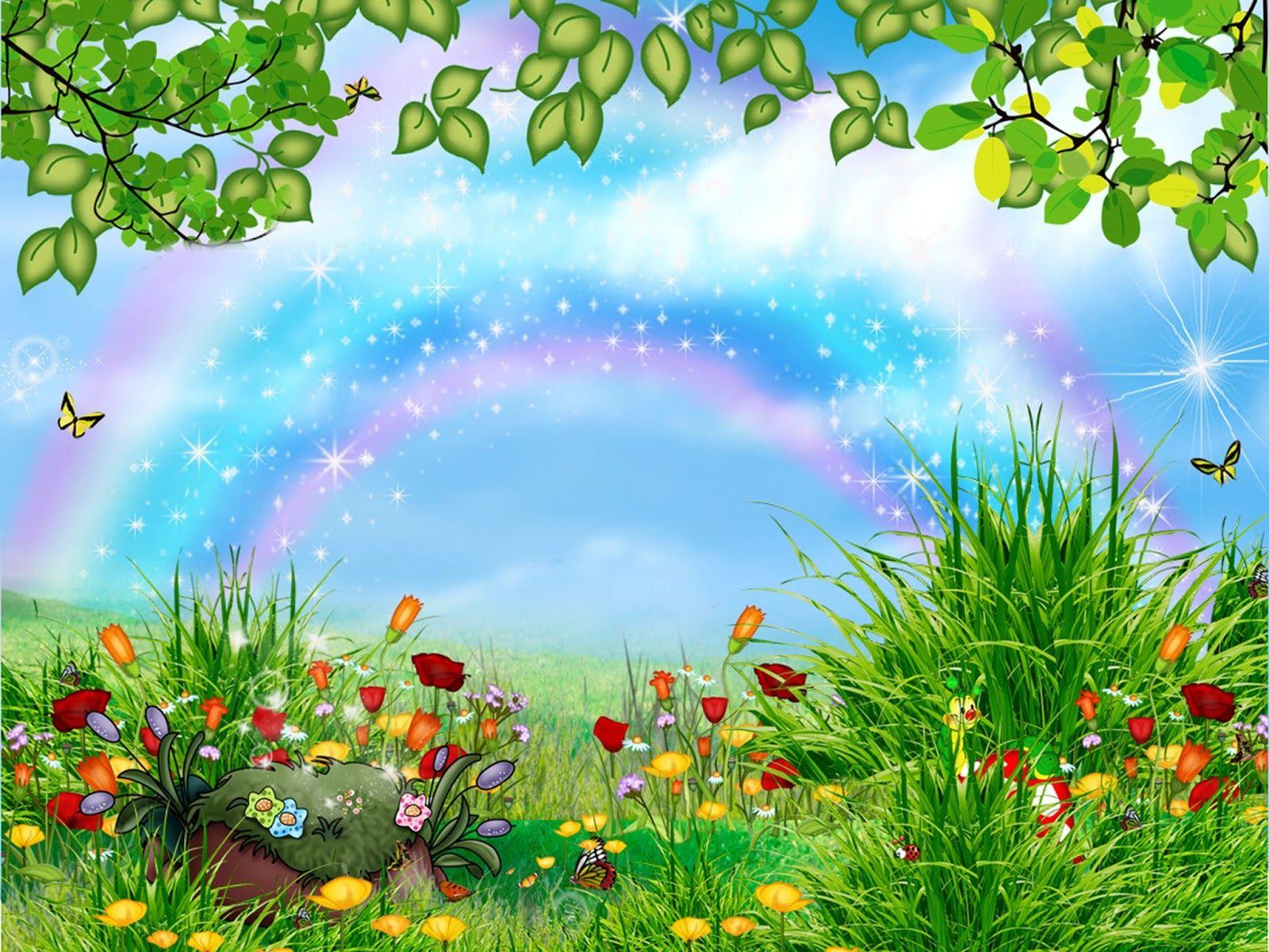 Imagenes y wallpapers fondo de pantalla para ni os for Imagenes de jardines pequenos