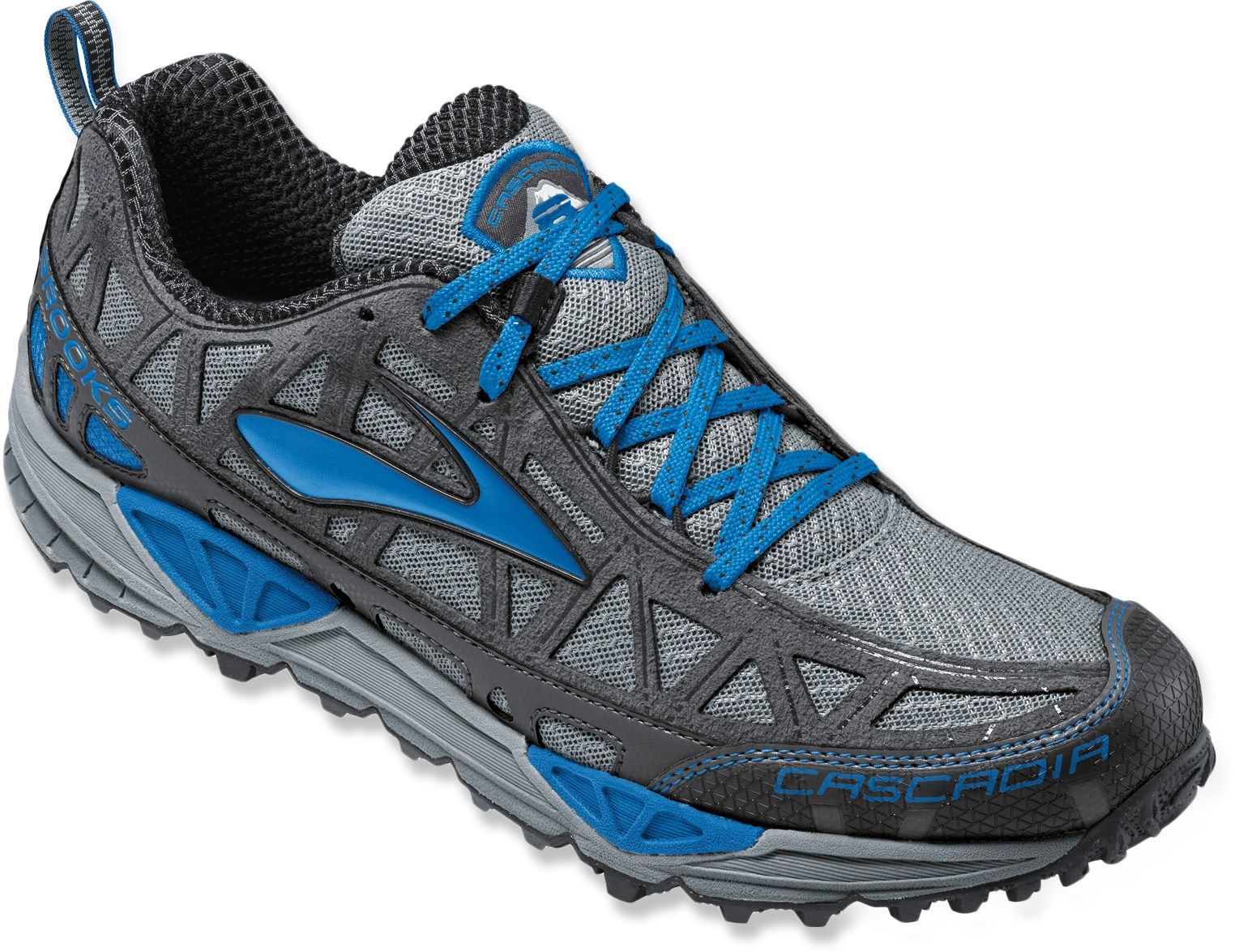 159428737895d Brooks Cascadia 8 Trail-Running Shoes - Men s - Free Shipping at REI.com.  Find this Pin and more ...