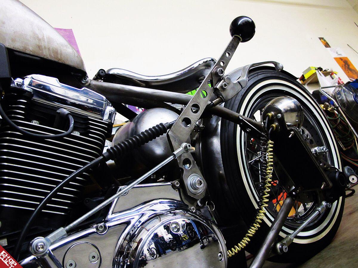 Jockey Shift Bobber Cafe Motorcycle Bike Kickstart Shovelhead Chopper Wiring Diagram Custom Choppers Harleys Harley
