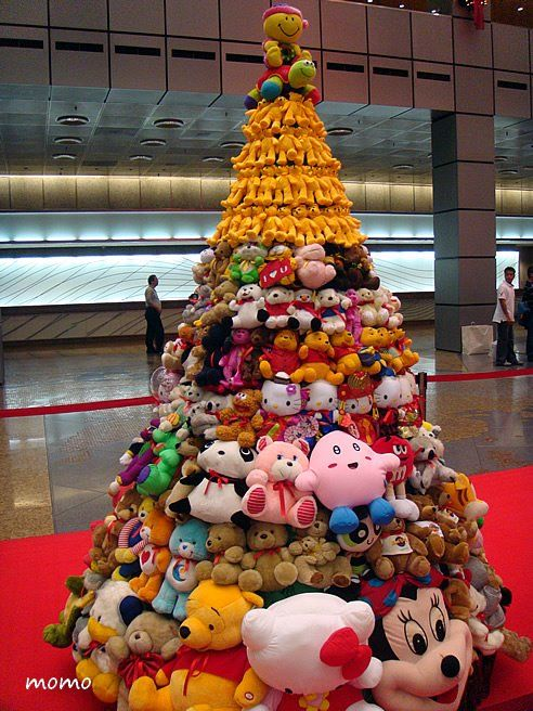 Soft Toy Christmas Tree Unusual Christmas Trees Funny Christmas Tree Diy Christmas Tree