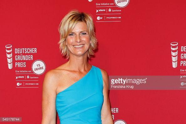 Barbara Hahlweg Attends The Deutscher Gruenderpreis On July 5 2016 In Picture Id545178744 594 396 Hair Beauty Beauty One Shoulder Formal Dress