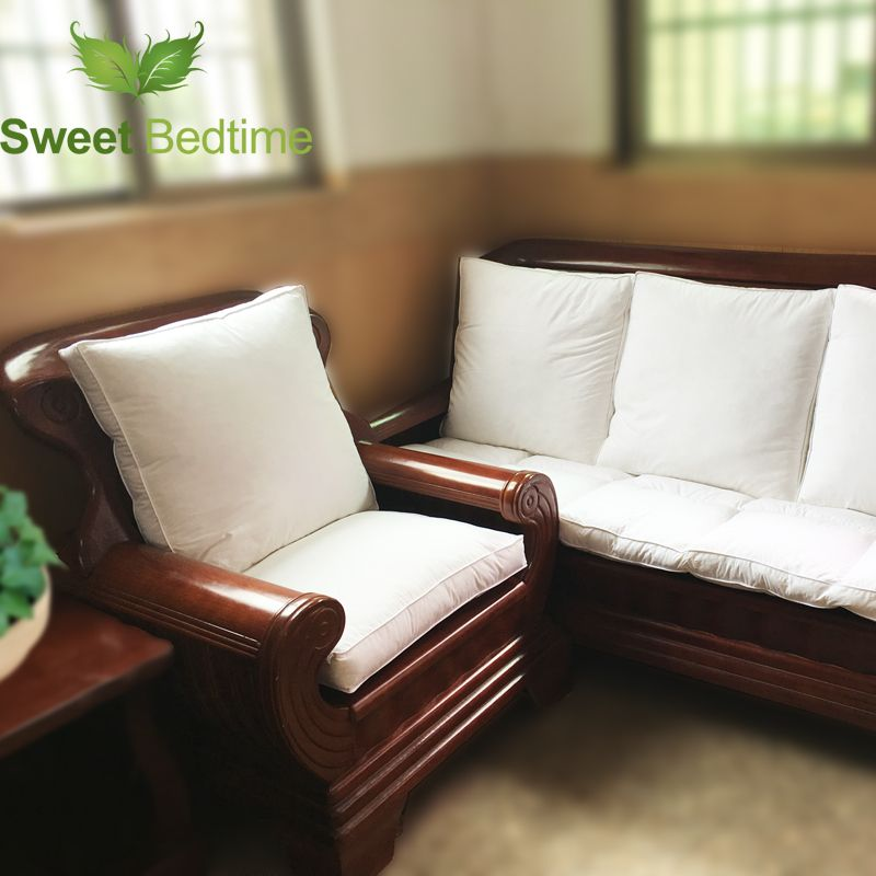 Custom Made Duck Down Feather Sofa Cushion Inserts Back Cushion Inner Seat Floor Mat Bay Window Tatami Mat 55 Couch Pillo Cushions On Sofa Couch Cushions Couch