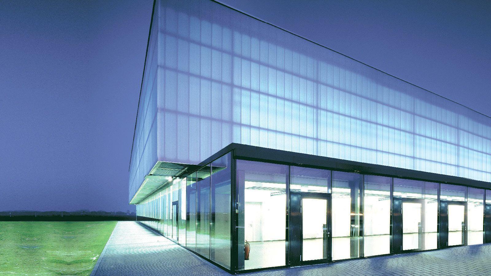 Lichtbauelemente Hohlkammerscheiben Paneele Lichtbänder Und