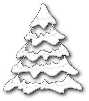 Memory Box Die Snowy Tree 99013 Neu 2014 Weihnachten Tanne Tannenbaum Weihnachten Basteln Ton Fensterbilder Weihnachten Basteln Basteln Weihnachten
