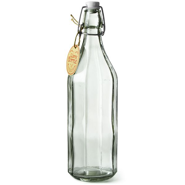 French Table Water Bottle 1ltr Bottle Water Bottle Water Carafe Wedding