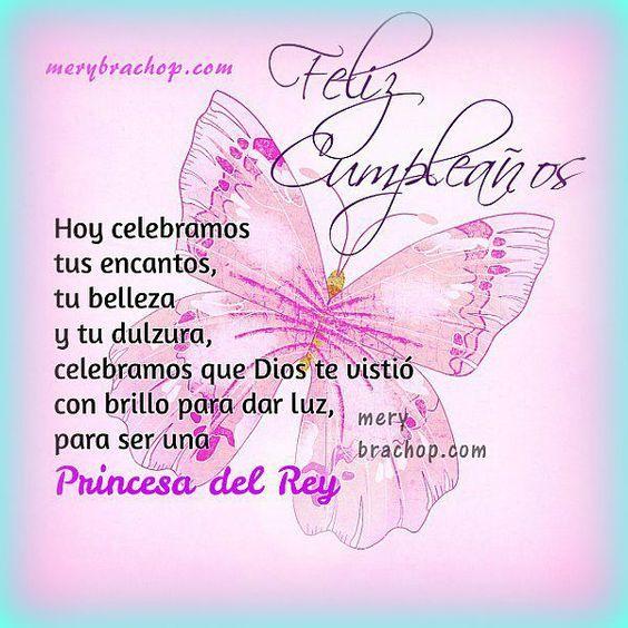 Frases Cumpleanos Amiga Princesa Hermana Cumpleanos Feliz