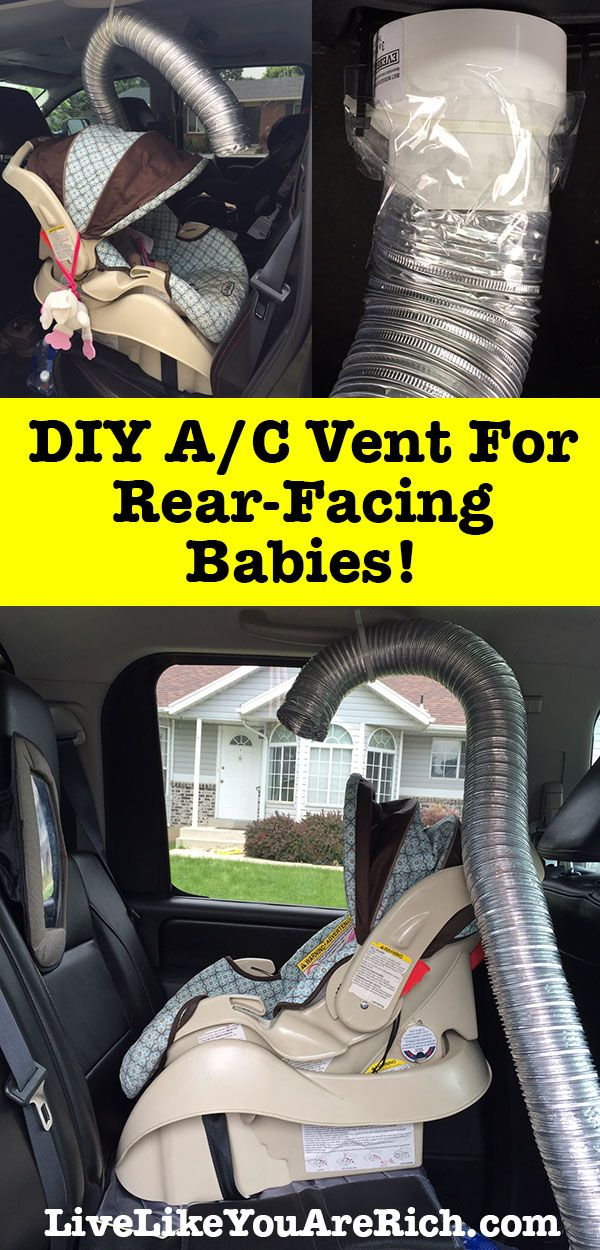 How to Keep Your Baby Cool in Their Rear-Facing Car Seat | Long car ...