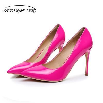10cm High Heels Women Comfortable Elegant Heel Nude Gold Shoes