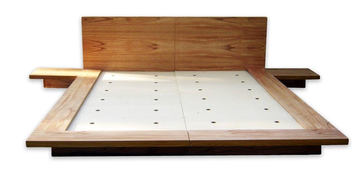Resultado de imagen de como hacer un tatami para cama for Cama tatami