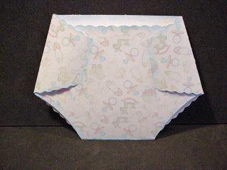 MeFlick's Various Forms of Cut Files: Diaper Card