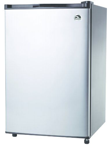 Black Friday 2014 Igloo Fr465 4 6 Cu Ft Refrigerator Stainless Steel Door From Igloo Stainless Steel Doors Stainless Steel Fridge Stainless Steel Refrigerator